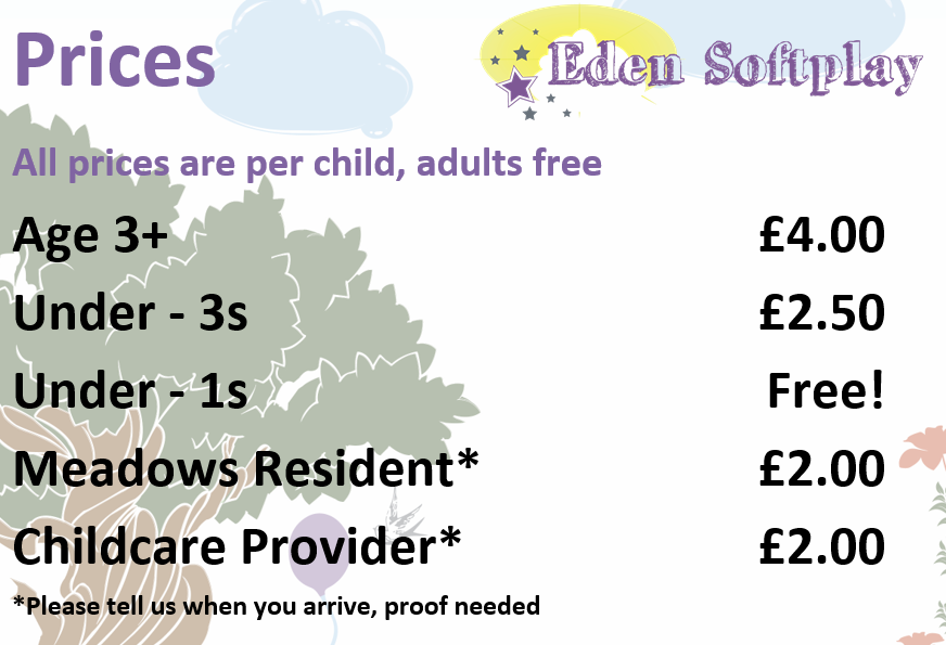 Soft Play Prices